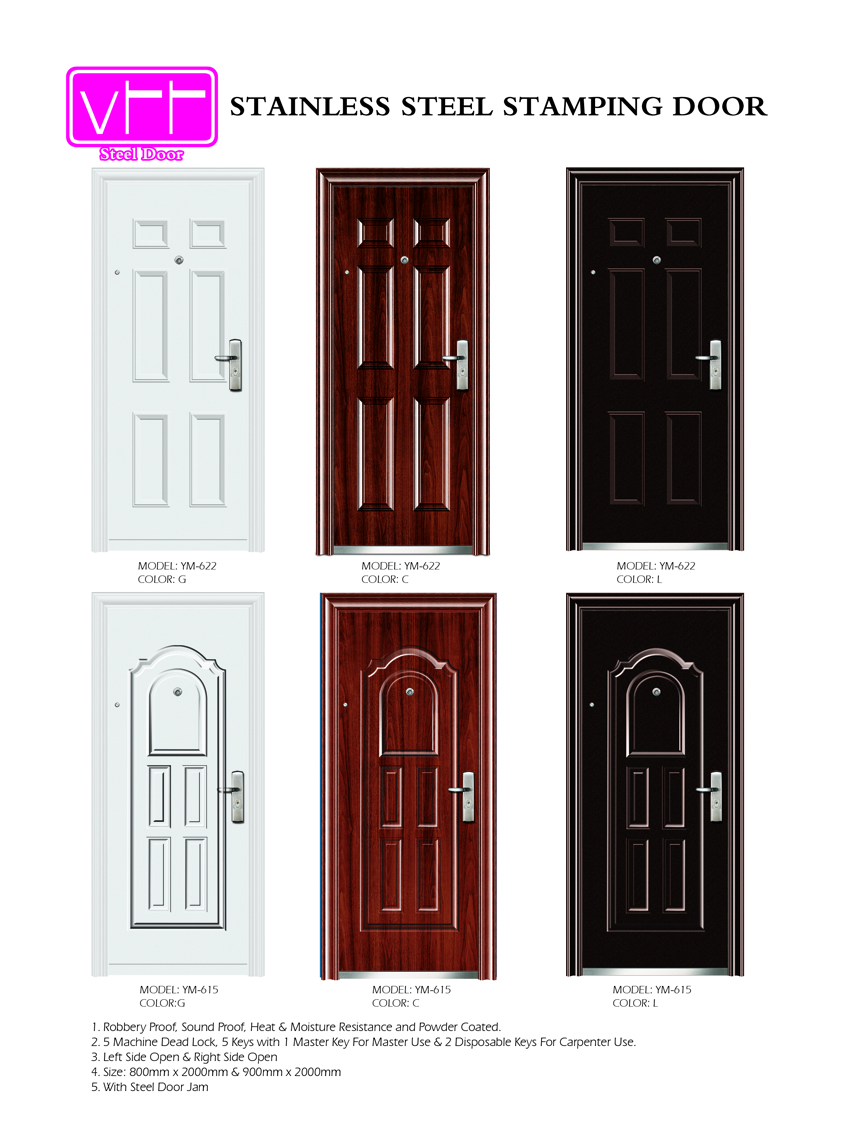 The Features That The Product Has Are Fire Proof, Sound Proof, High  Security Machine Lock And Many More. Unlike Wooden Doors Which Are More  Expensive ...